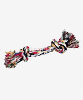 Gryzak ze sznurka bawełnianego kolorowy zabawka dla psa Trixie