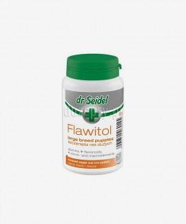 Flawitol dla szczeniąt dużych ras witaminy i minerały z flawonoidami z winogron Dr Seidel
