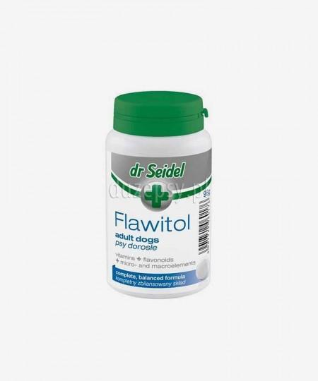 Dr Seidel Flawitol dla psów dorosłych witaminy i minerały z flawonoidami z winogron