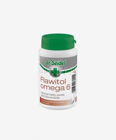 Flawitol Omega 6 skóra i sierść tabletki dla psów Dr Seidel