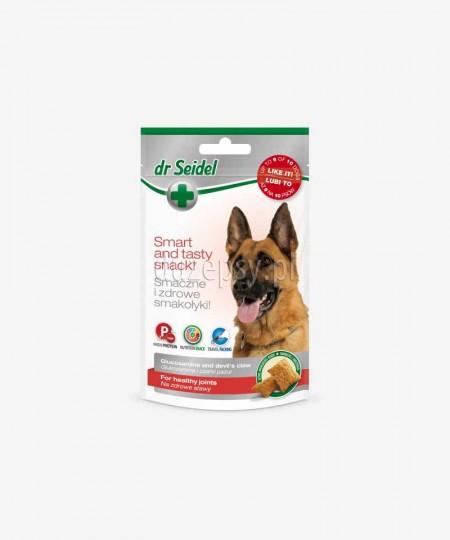 Smakołyki na zdrowe stawy dla psów dużych ras dr Seidla - glukozamina i czarci pazur