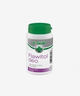 Flawitol Deo z chlorofilem tabletki neutralizujące przykre zapachy u psów Dr Seidel, 60 tabl.