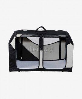 Transporter na dwa psy do bagażnika składany VARIO Trixie 91 × 60 × 61/57 cm