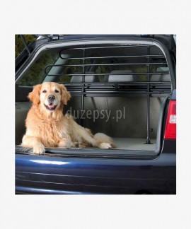 Przegroda do samochodu kratka do bagażnika dla psa regulowana do szer. 140 cm