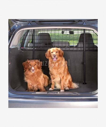 Przegroda dla psa do samochodu kratka do bagażnika regulowana