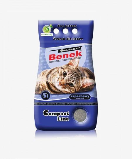 Super Benek Compact Zapachowy żwirek dla kotów zbrylający