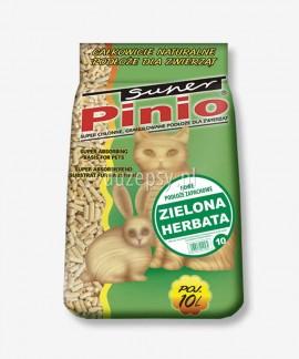 Super Pinio Zielona Herbata żwirek drewniany dla kotów