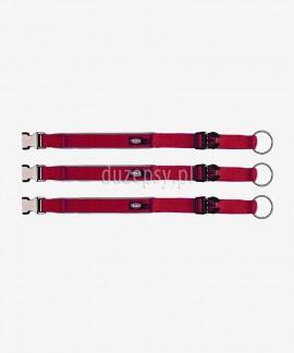 Obroża dla psa Trixie EXPERIENCE taśma czerwona M/L 37-50 cm