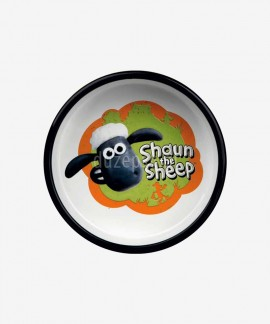 Miska ceramiczna dla psa SHAUN THE SHEEP pomarańczowa