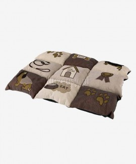 Legowisko dla małego psa kocyk PATCHWORK Trixie 55 × 40 cm
