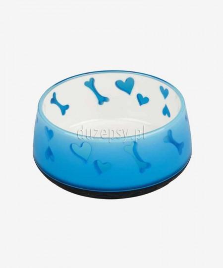 Miska dla psa plastikowa z podkładką z gumy Trixie