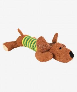 Pluszowa zabawka dla psa z linką piszcząca PIES TRIXIE 28 cm