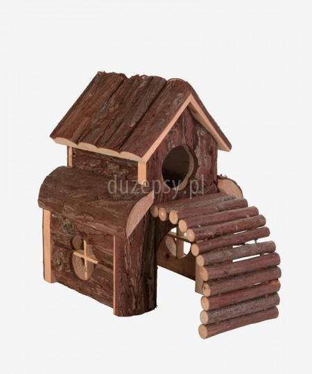 Domek dla chomika lub myszy z rampą drewniany FINN Trixie
