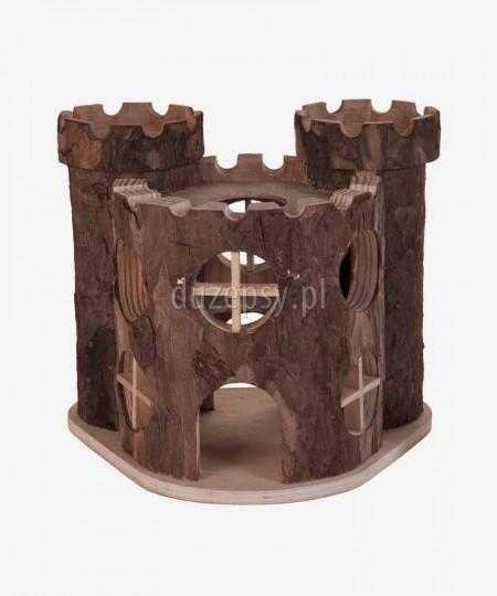 Domek dla chomika lub myszy drewniany PAŁAC MATTI z wieżami Trixie