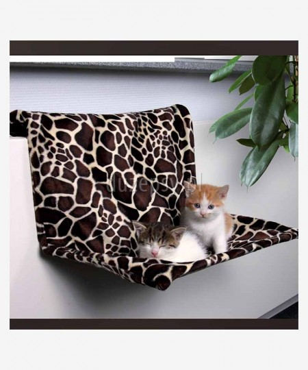Legowisko dla kota na kaloryfer ŻYRAFA Trixie 48 × 26 × 30 cm