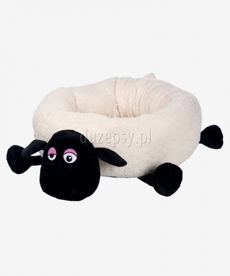 Ekskluzywne legowisko dla małego pieska pluszowe SHAUN THE SHEEP Trixie ø 50 cm