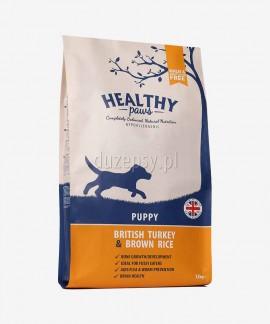 Healthy Paws indyk brązowy ryż karma dla szczeniąt 100% naturalna 12 kg