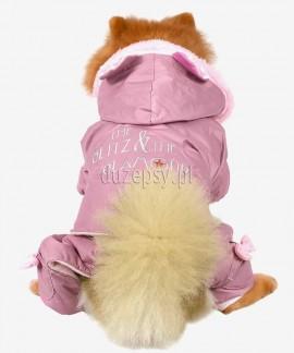 Ubranko dla yorka chihuhua na zimę kombinezon GLITZ & GLAMOUR DoggyDolly