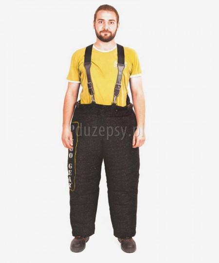 Spodnie do mondioringu do pełnego gryzienia DINGO GEAR
