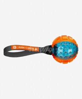 Piłka dla psa z gumy termoplastycznej z możliwością wyłączania dźwięku Trixie