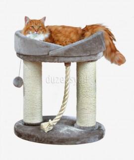 Legowisko dla dużego kota i drapak w jednym MARCELA Trixie wys. 60 cm