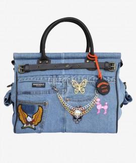 DoggyDolly ekskluzywna torba transportowa dla yorka 42 x 32 x 22 cm