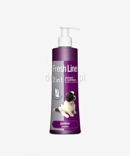 Szampon z odżywką dla psów juniorów Fresh Line Dermapharm, 220 ml