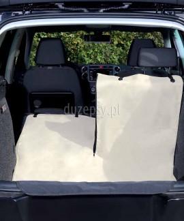 Mata ochronna do bagażnika samochodu rozpinana na dwie części 130 × 180 cm