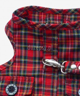 Szelki designerskie dla psa typu vest + smycz DoggyDolly