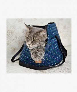 Torba transportowa dla kota ŁAPKI