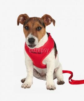 Szelki dla szczeniaka + smycz regulowana Trixie PUPPY DOG obw. 33-47 cm