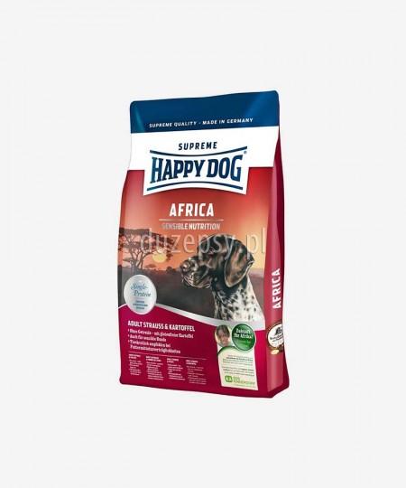 Happy Dog Africa karma dla dorosłych psów wrażliwych hypoalergiczna 12,5 kg