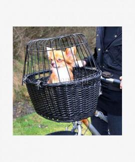 Koszyk na rower dla psa wiklinowy Trixie FRIENDS ON TOUR