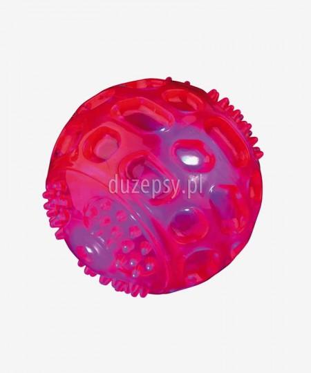 Świecąca piłka dla psa z gumy termoplastycznej pływająca Trixie