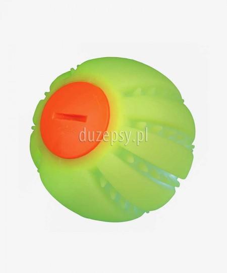 Piłka świecąca dla psa USB z silikonu wodoodporna Trixie ø 6 cm