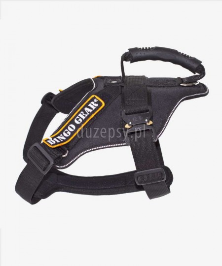 Szelki dla owczarka niemieckiego do pracy i szkolenia K9 EXTREME COBRA Dingo Gear