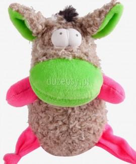 Zabawka piszcząca dla psa osioł STUART Dingo 17 cm