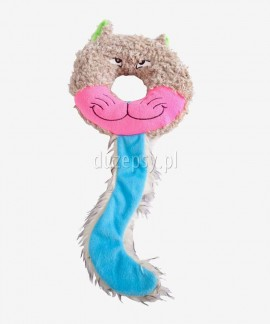 Zabawka piszcząca dla psa kot TOM Dingo 18 cm