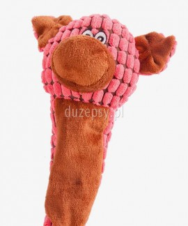 Zabawka dla psa piszcząca prosiaczek GINGER Dingo 55 cm