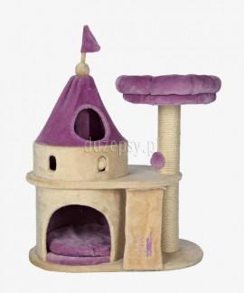 Ekskluzywny drapak dla kota z legowiskiem zamek My Kitty Darling Trixie wys. 90 cm