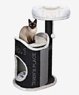 Ekskluzywny drapak dla kota z domkiem wieża SUSANA Trixie wys. 90 cm