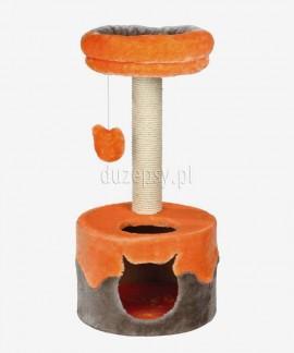 Drapak dla kota z domkiem i legowiskiem NURIA Trixie wys. 71 cm