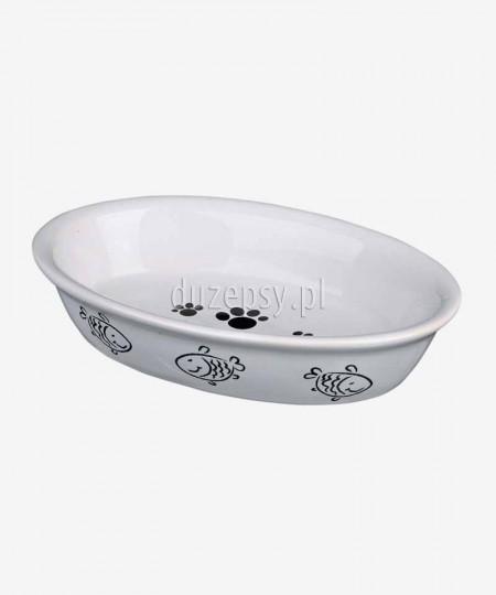 Miska ceramiczna dla kota Trixie 15 × 10 cm