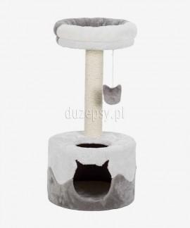 Elegancki drapak dla kota z domkiem i legowiskiem NURIA Trixie wys. 71 cm