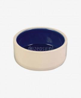 Miska ceramiczna dla psa DOG FOOD kremowa
