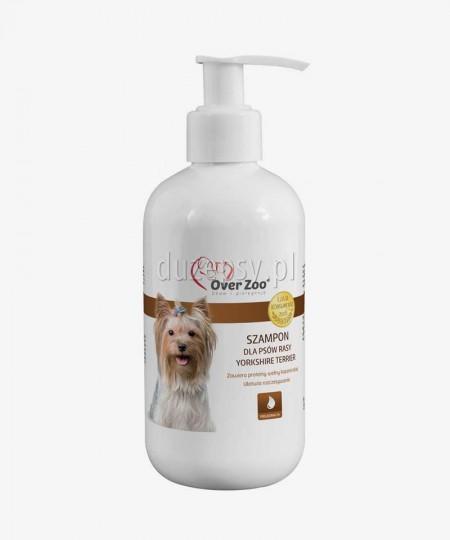 Szampon dla psów rasy Yorkshire Terrier z proteinami wełny kaszmirskiej OVER ZOO 250 ml