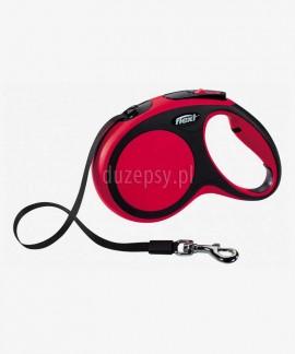 Flexi New Comfort M taśma 5 m smycz automatyczna dla psa do 25 kg