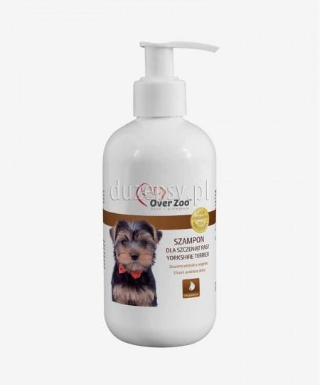 Szampon dla szczeniąt Yorkshire Terrier z proteinami wełny kaszmirskiej OVER ZOO 250 ml