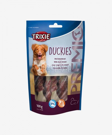 Trixie Premio kosteczki wapienne z mięsem kaczki przysmak dla psa 100 g