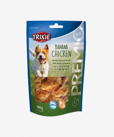 Kurczak i banan przysmaki dla psa Trixie Premio 100 g